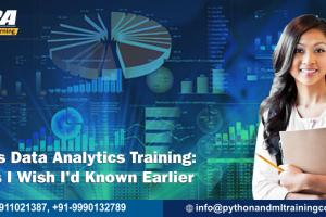 Business Data Analytics Training 5 Things I Wish I'd Known Earlier